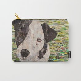 Lily on Green Background Carry-All Pouch