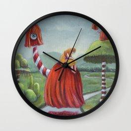 Mystic Voyage Wall Clock
