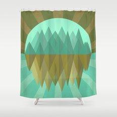 Rocks rock Shower Curtain