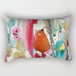 jouons aux bois Rectangular Pillow