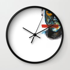 Geometry Face Wall Clock