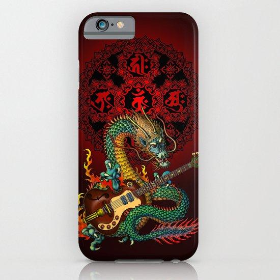 Dragon guitar 1 iPhone & iPod Case