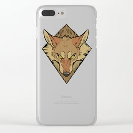 Scrappy (Color) Clear iPhone Case