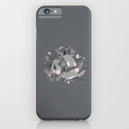 Bunny Meadow iPhone Case