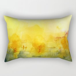 Memory of a landscape Rectangular Pillow