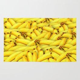 Yellow Bananas pattern Rug