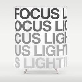 Focus3 Shower Curtain