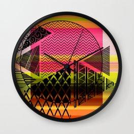 Zentangle Fun Wall Clock