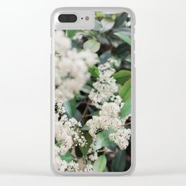 little flowes Clear iPhone Case