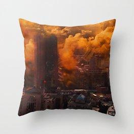 Defective Apocalypse Throw Pillow
