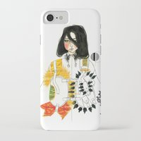 soldier iPhone & iPod Cases featuring Soldier by Dunia Design