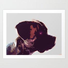 Dog Louis Art Print