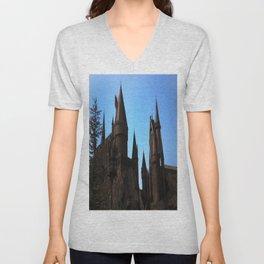 Hogwarts Unisex V-Neck