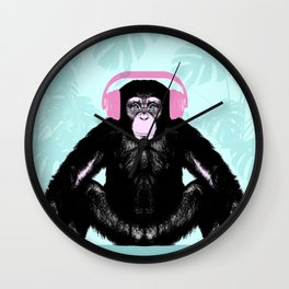 Jungle Music Wall Clock