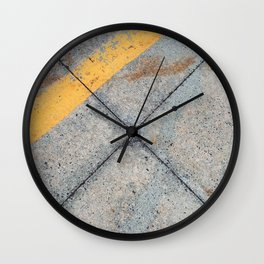 Concrete Ground Wall Clock