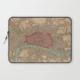 Vintage Map of London England (1815) Laptop Sleeve