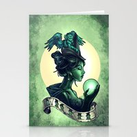 wicked Stationery Cards featuring WICKED by Tim Shumate