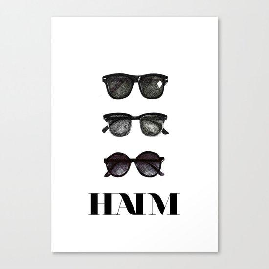 Haim Canvas Print