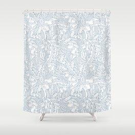 Folk Leaves Shower Curtain