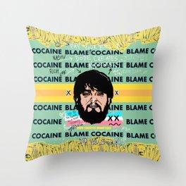 The South Beach Monster Throw Pillow