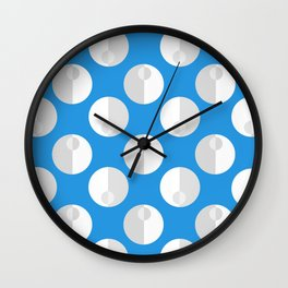 Seafoam (blue) Wall Clock