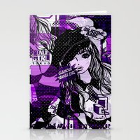 police Stationery Cards featuring POLICE WOMEN by Chandelina