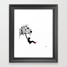 the Swingset Framed Art Print