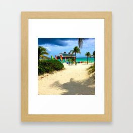Castaway Cay - DCL Framed Art Print