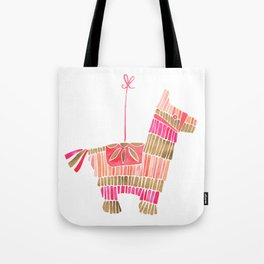 Mexican Donkey Piñata – Pink & Rose Gold Palette Tote Bag