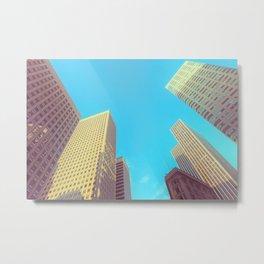 San Francisco Structures Metal Print