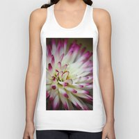 hayley williams Tank Tops featuring Hayley Jane Dahlia by The Lazy Beach