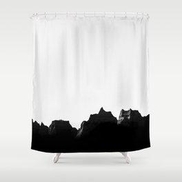 Badlands III Shower Curtain