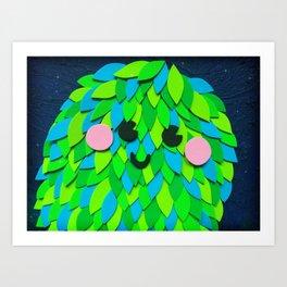 Monster of Memories Art Print