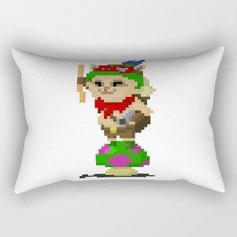 Pixel Teemo Rectangular Pillow