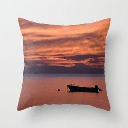 Cape Sounio 3 Throw Pillow