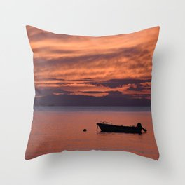 Cape Sounio 3 - Greece - Landscape and Rural Art Photography Throw Pillow