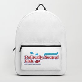 Politically Neutral Fish Backpack