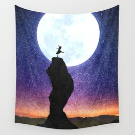 A Dance for the Moon Wall Tapestry