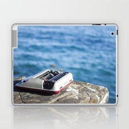 Writing on the sea Laptop & iPad Skin