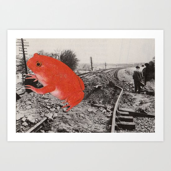 Red Terror Art Print