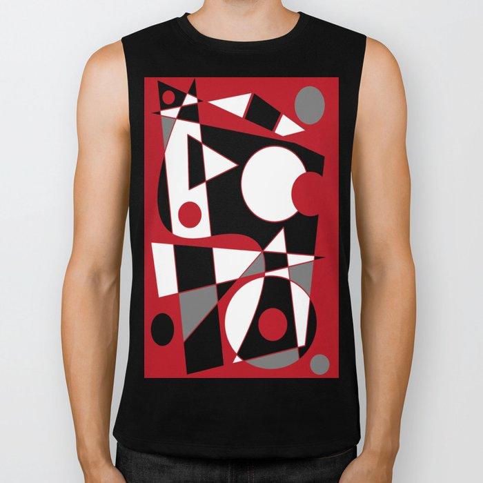 Abstract #185 Biker Tank