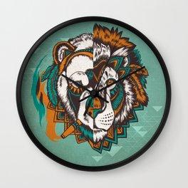 Split Personality Wall Clock