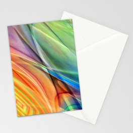 multicolored abstract no. 52 Stationery Cards