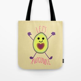 Let's Avocuddle AVOCADO Tote Bag