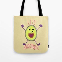 Let's Avocuddle AVOCADO Tote Bag