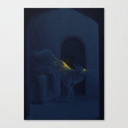 carrying sunlight Canvas Print