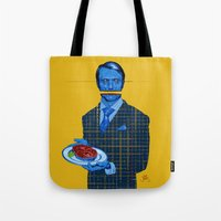 hannibal Tote Bags featuring Hannibal by Leif Jones