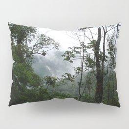 Foggy brazilian forest Pillow Sham