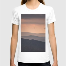 Blue Ridge Parkway Sunset - Shenandoah National Park T-shirt