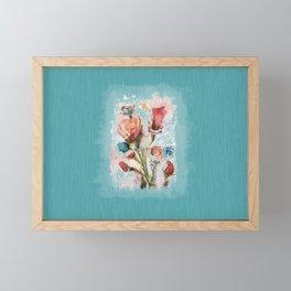 blooming fantasy Framed Mini Art Print
